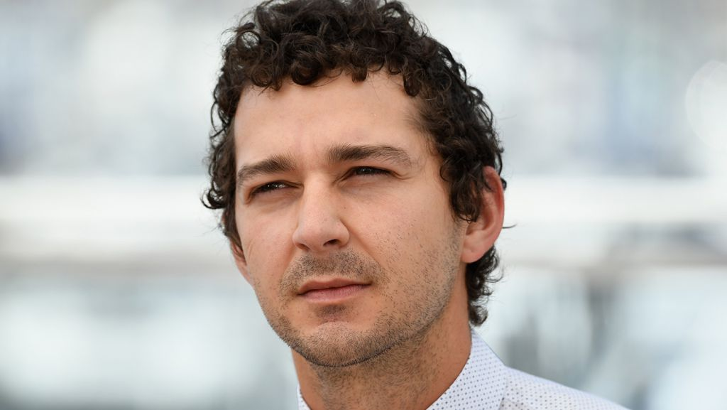 Shia LaBeouf in American Honey Photocall