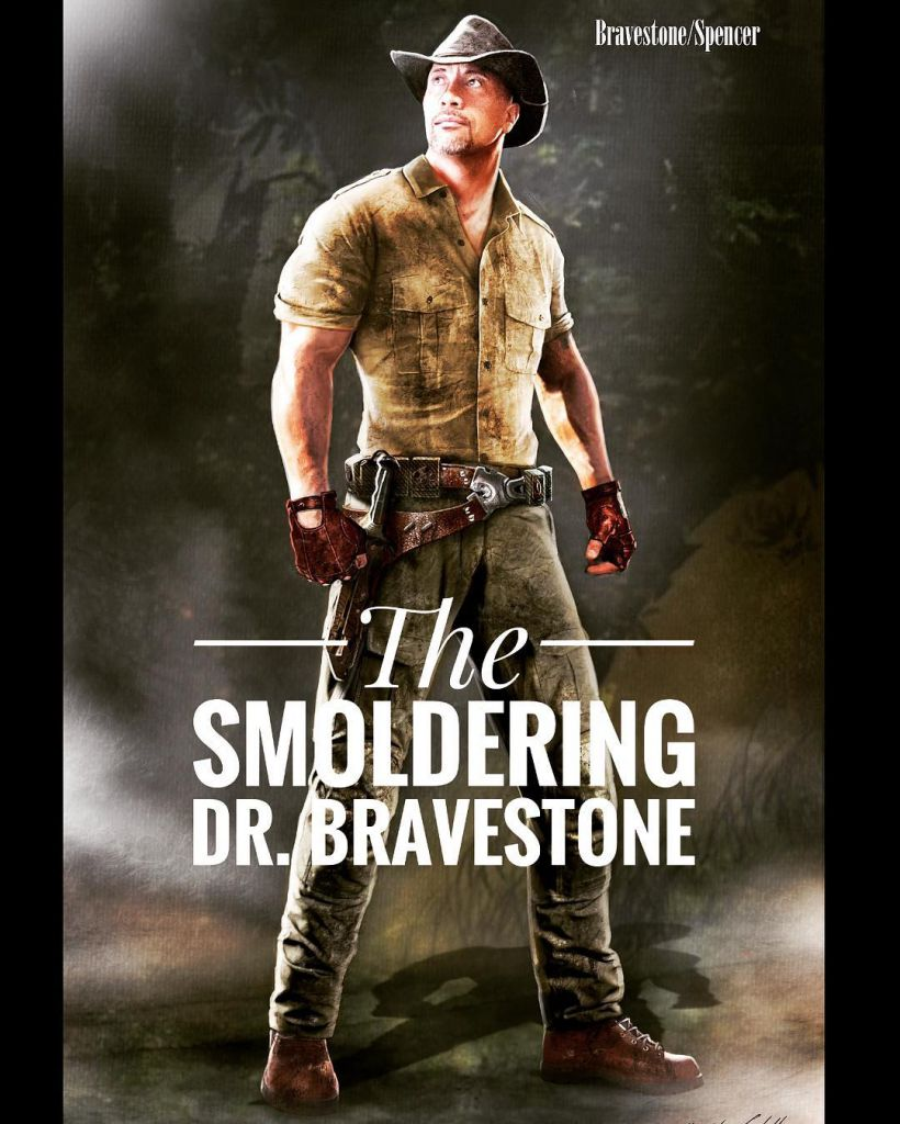 Dwayne Johnson Dr. Bravestone