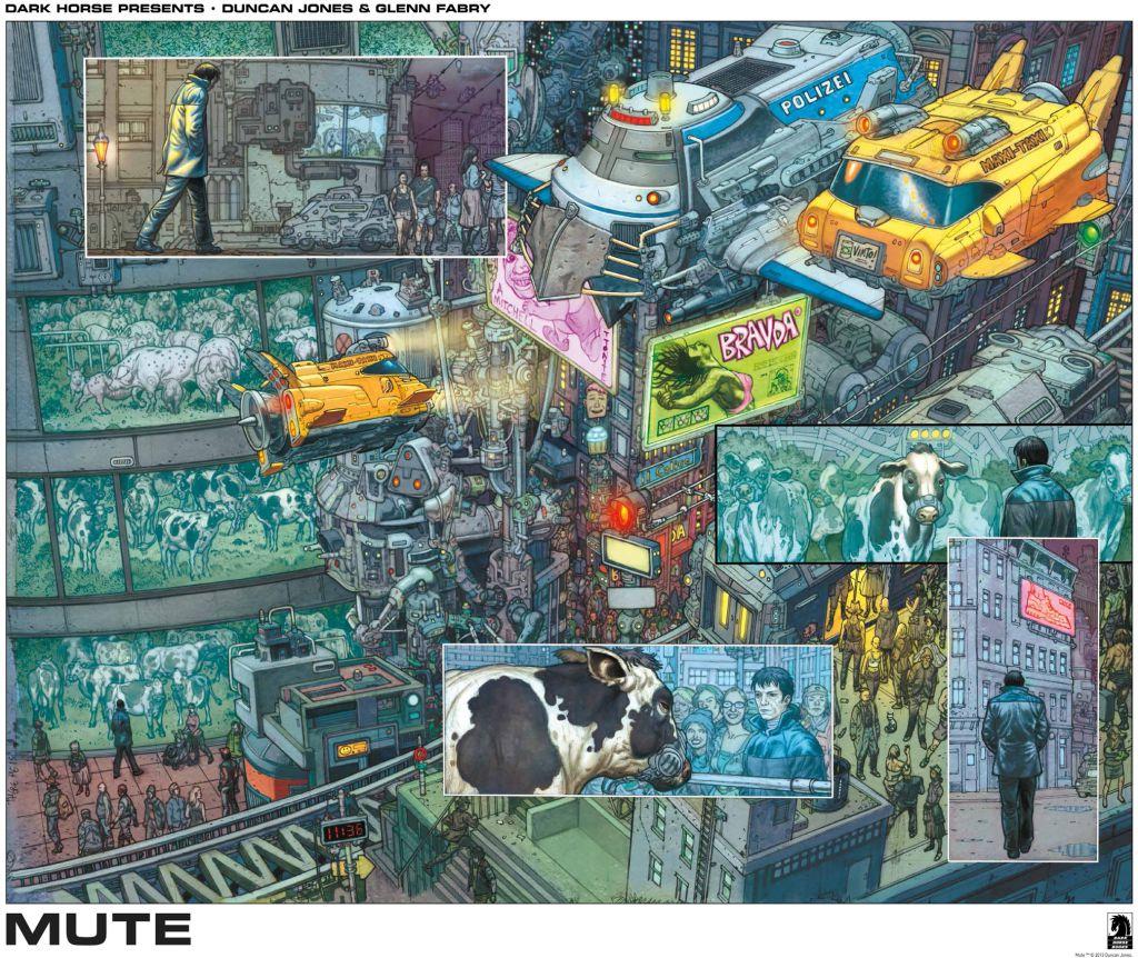 Mute Dark Horse Comics