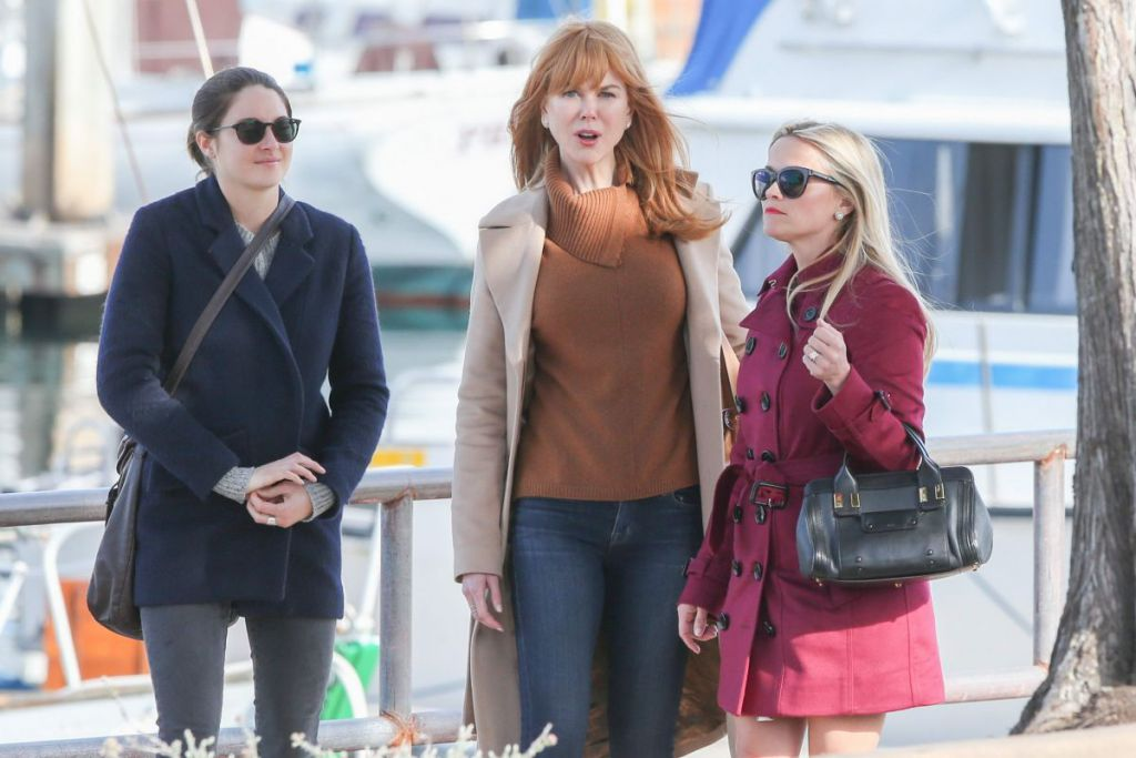 Nicole Kidmand and Reese Witherspoon in Big Little Lies