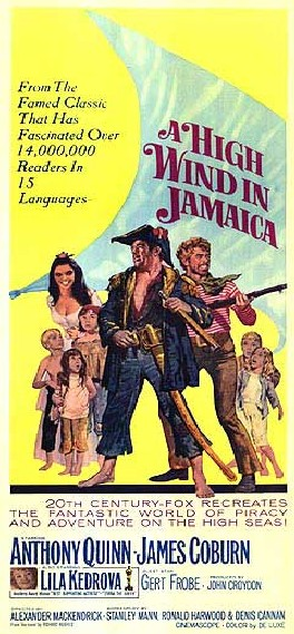 A High Wind in Jamaica Poster