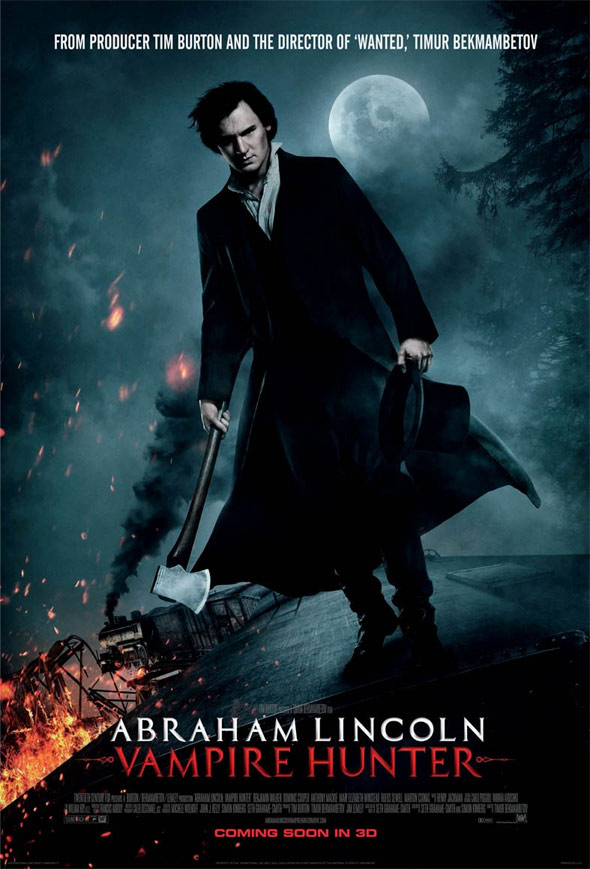 Abraham Lincoln: Vampire Hunter Poster #3