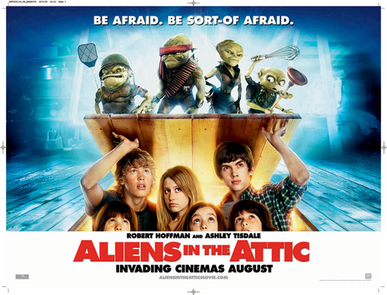 Aliens in the Attic Poster #2