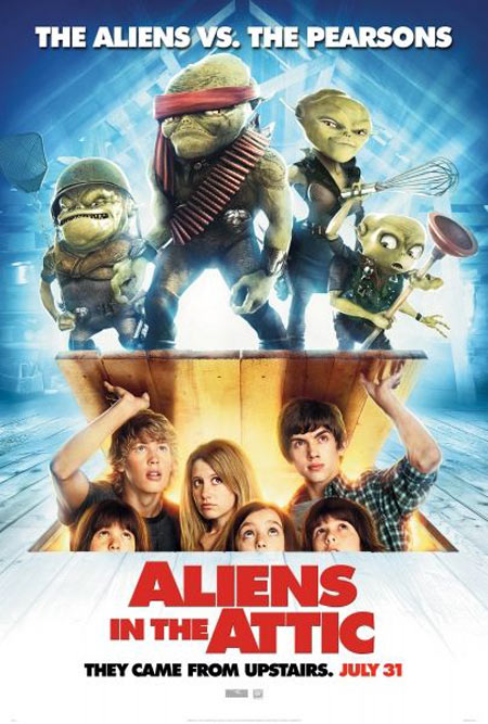 Aliens in the Attic Poster #1