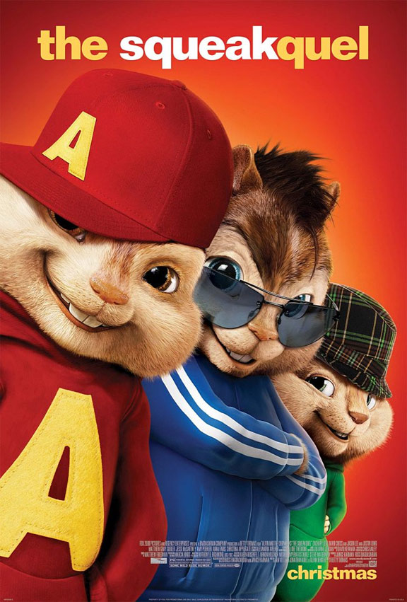Alvin and the Chipmunks: The Squeakquel Poster #9