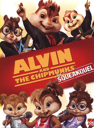 Alvin and the Chipmunks: The Squeakquel Poster #1