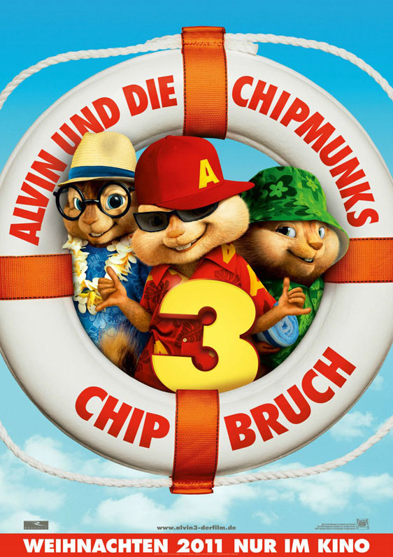 Alvin and the Chipmunks - Chipwrecked Poster #2