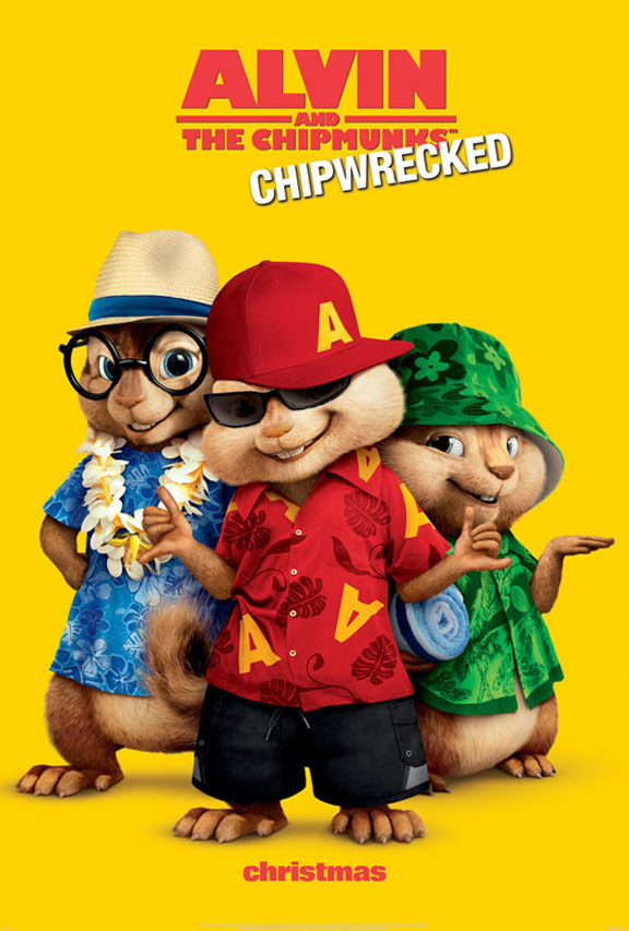 Alvin and the Chipmunks - Chipwrecked Poster #1