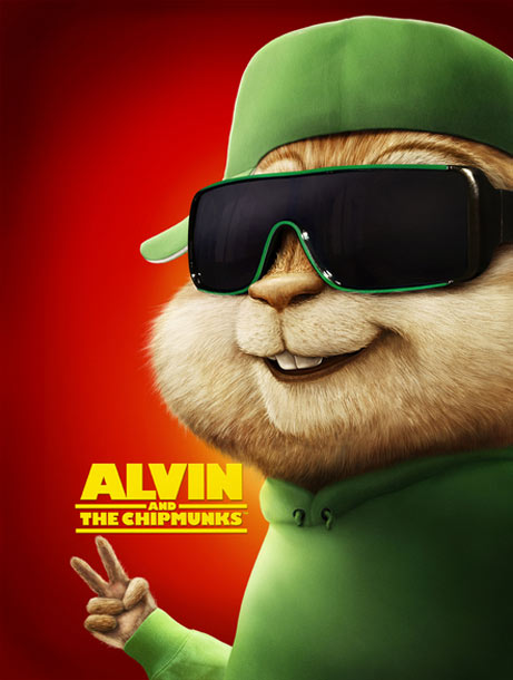 Alvin and the Chipmunks Poster #4