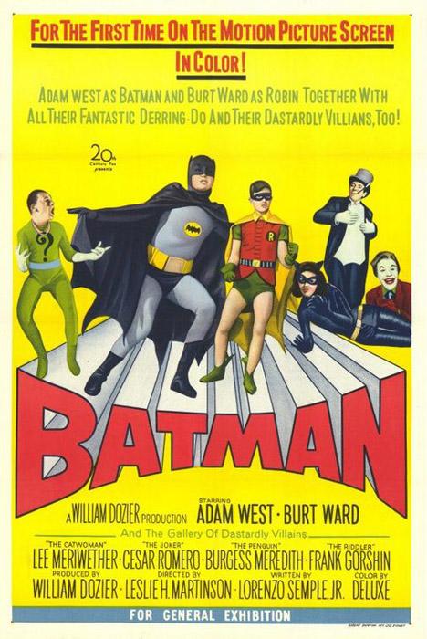 Batman 1966 Poster #1