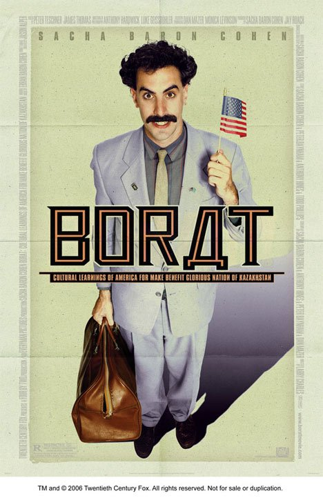 Borat: Cultural Learnings of America for Make Benefit Glorious Nation of Kazakhstan Poster #1