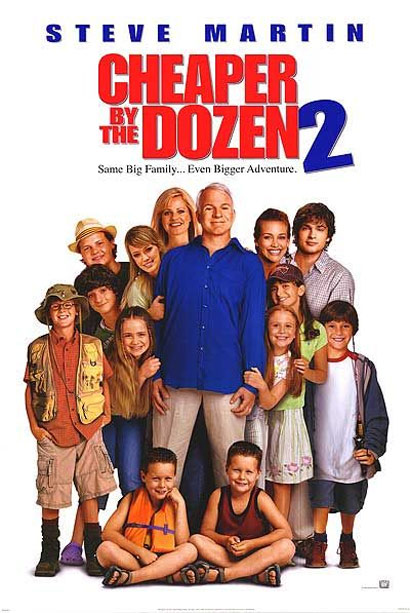 Cheaper by the Dozen 2 Poster #3