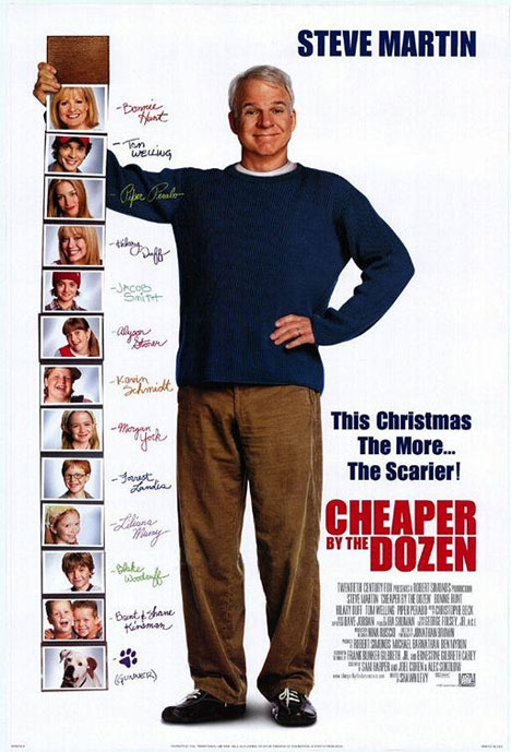 Cheaper by the Dozen Poster #1