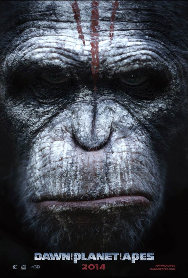 Dawn of the Planet of the Apes (2014) - Posters — The ... |Dawn Of The Planet Of The Apes 2014