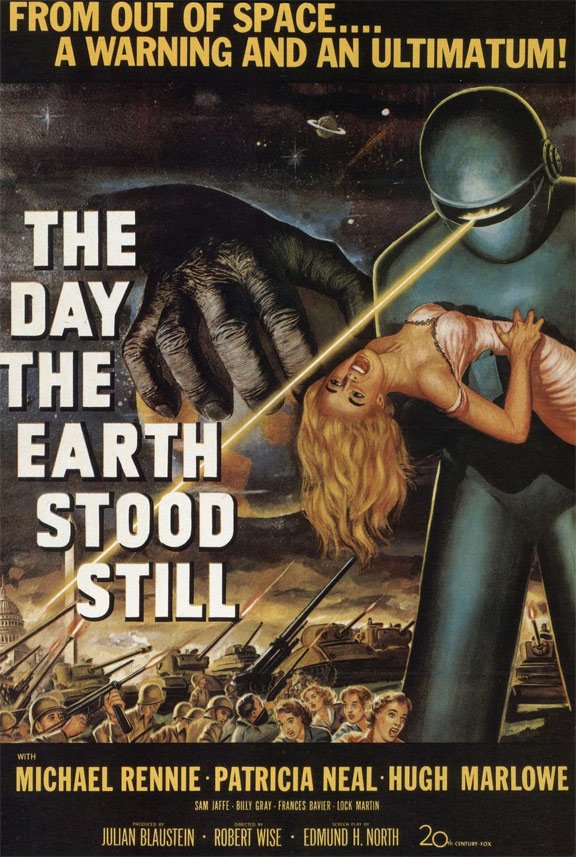 The Day the Earth Stood Still Poster #1