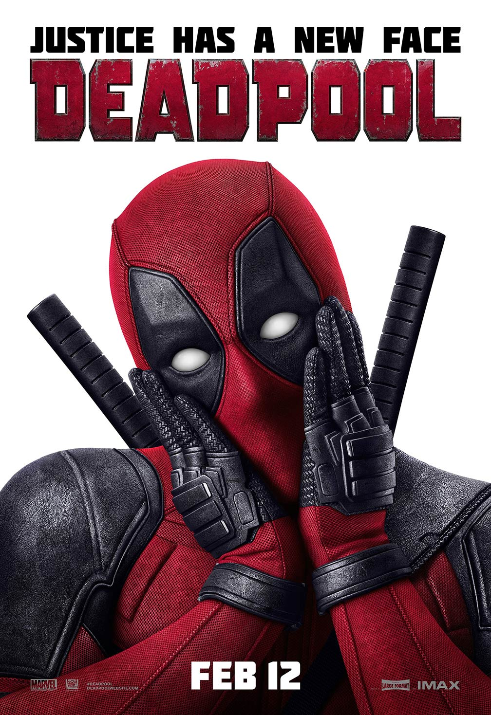 Deadpool (2016) Poster #1 - Trailer Addict