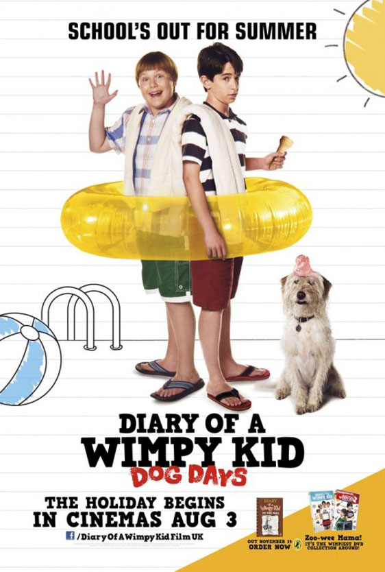 Diary of a Wimpy Kid: Dog Days Poster #2