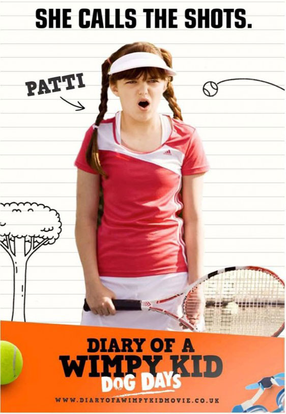 Diary of a Wimpy Kid: Dog Days Poster #8