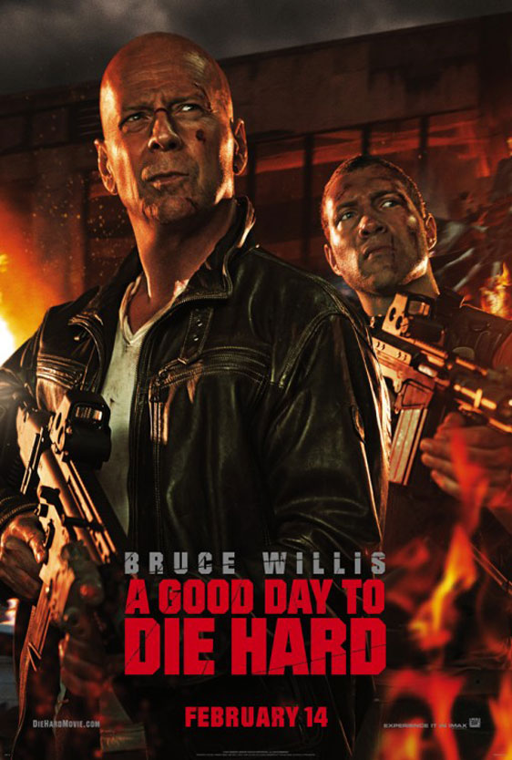 A Good Day to Die Hard Poster #3