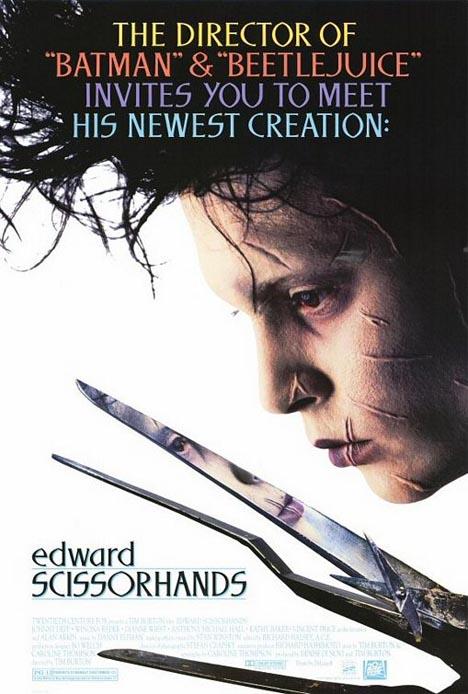 Edward Scissorhands Poster #1