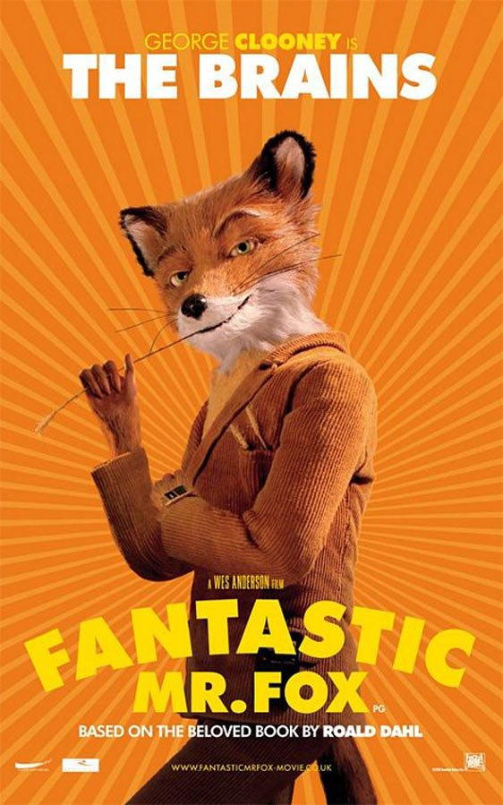 The Fantastic Mr. Fox Poster #3