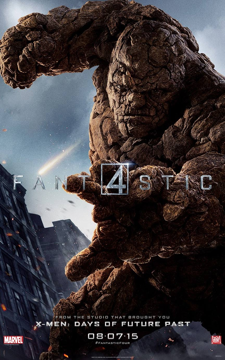 Fantastic Four  2015  Poster  4Fantastic Four Movie 2015
