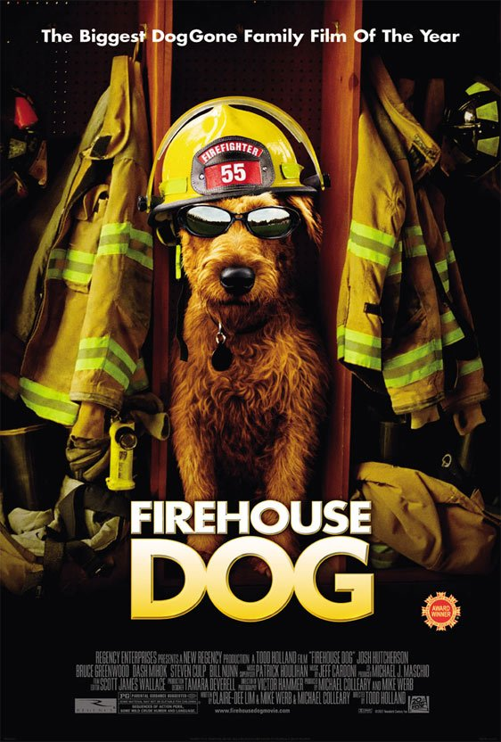 Firehouse Dog Poster #2