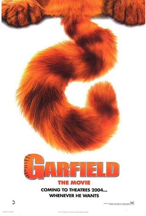 Garfield: The Movie Poster #1