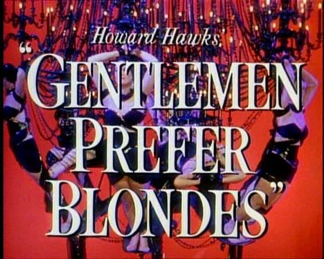 Gentlemen Prefer Blondes Poster #1