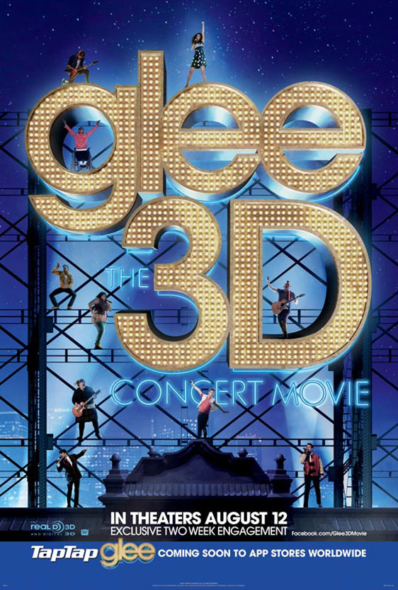 Glee: The 3D Concert Movie Poster #1