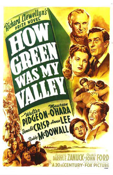 How Green Was My Valley Poster #2