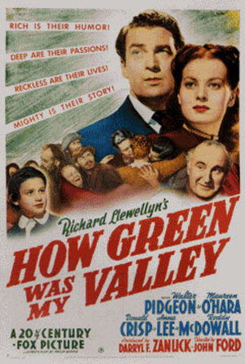 How Green Was My Valley Poster #4