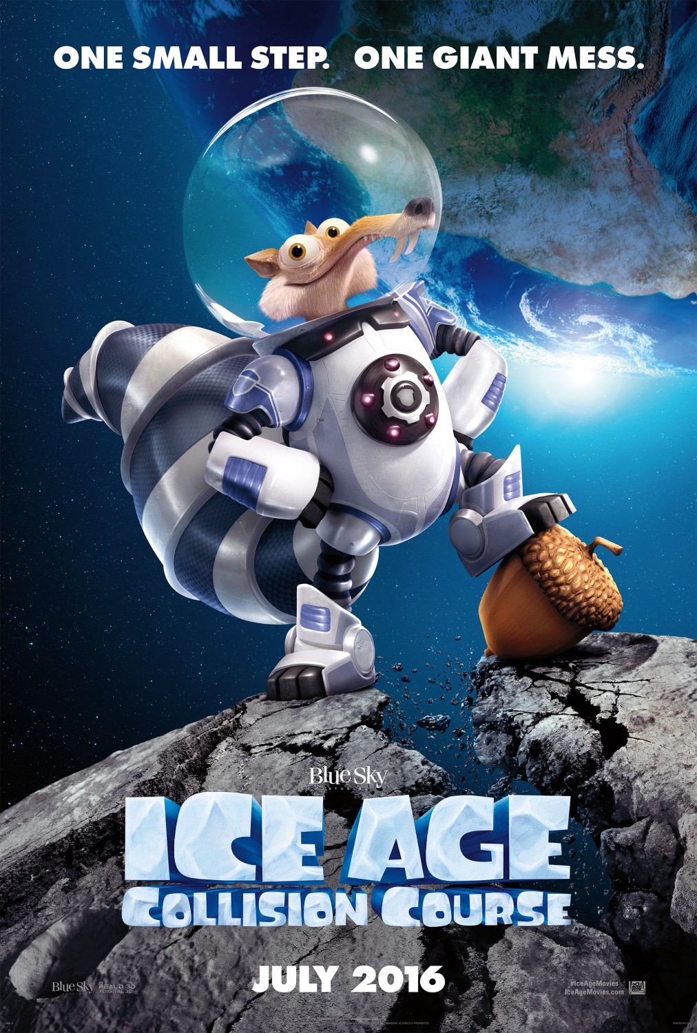 ice age collision course 2016 posters   traileraddict