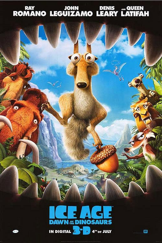 Ice Age: Dawn of the Dinosaurs Poster #2