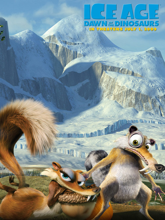 Ice Age: Dawn of the Dinosaurs Poster #6
