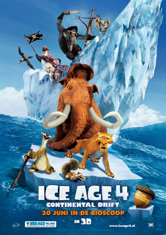 Ice Age: Continental Drift Poster #3