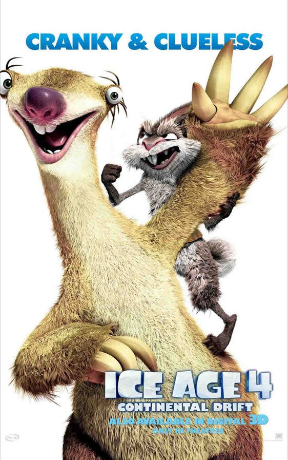 Ice Age: Continental Drift Poster #4