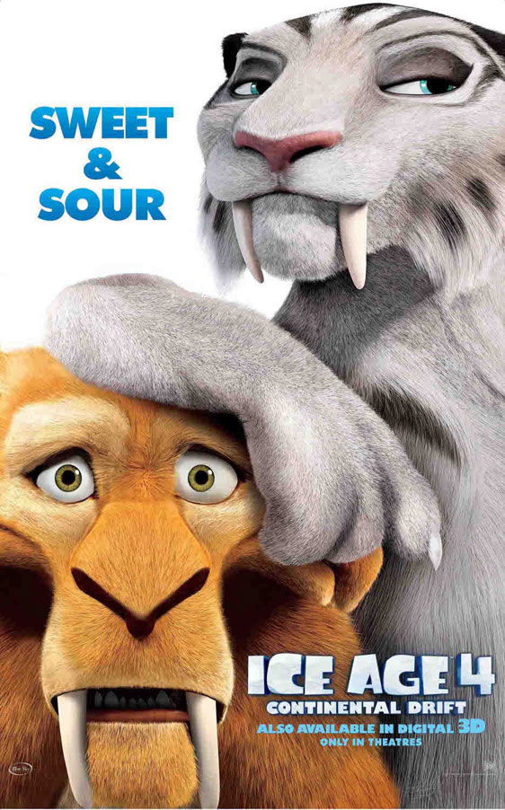 Ice Age: Continental Drift Poster #5
