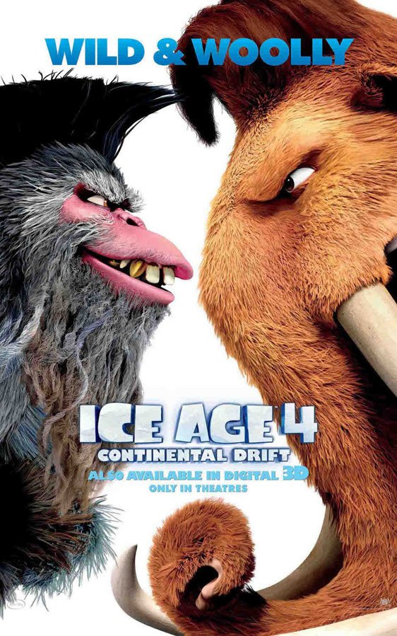 Ice Age: Continental Drift Poster #7