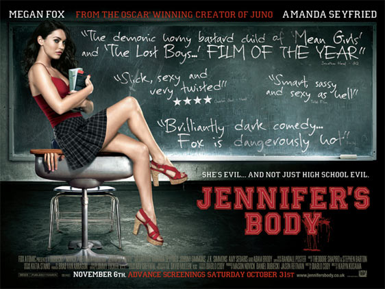 Jennifer's Body Poster #4