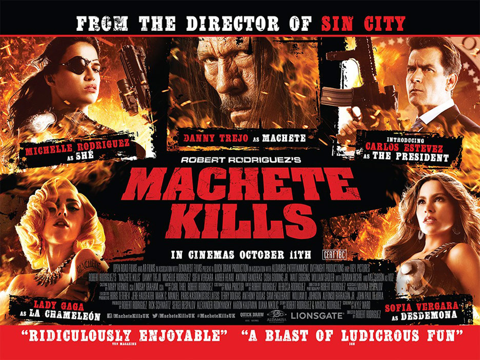 Machete Kills Poster #11