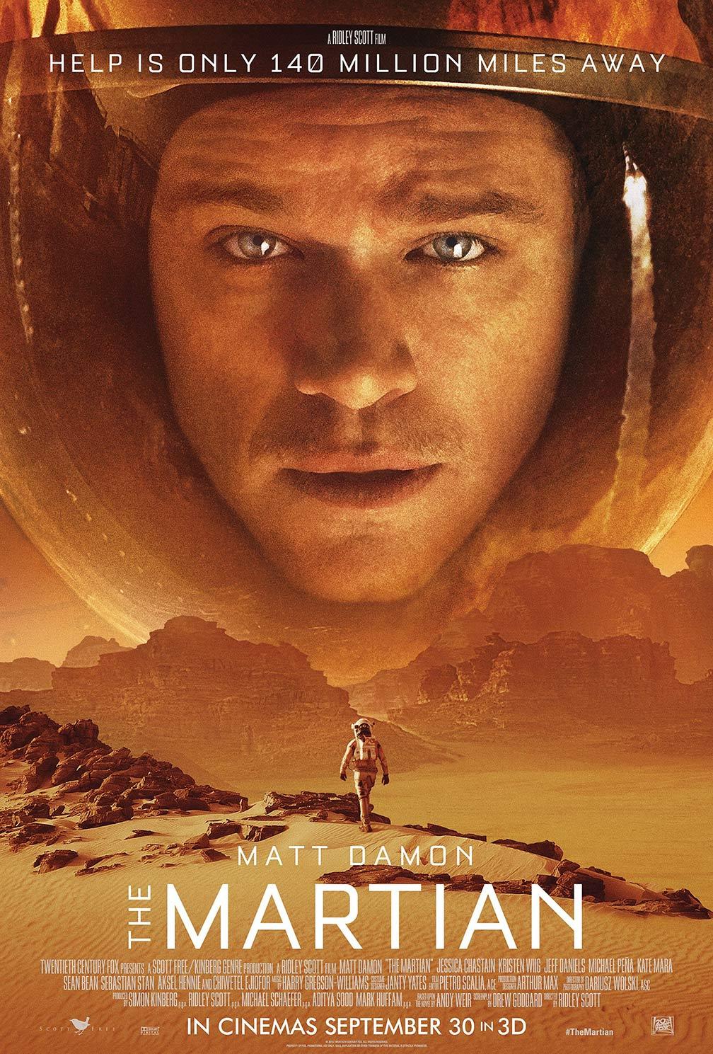 The Martian / Марсианецът (2015)