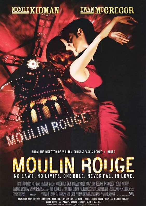 Moulin Rouge! Poster #6