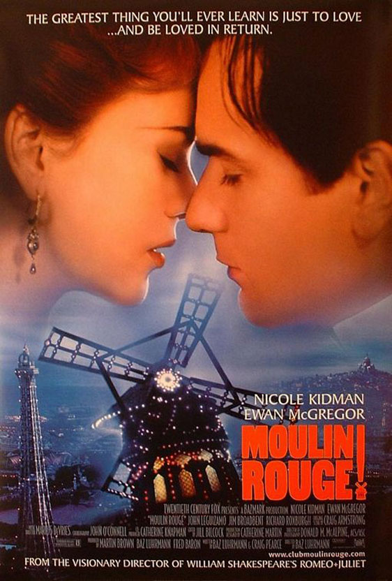 Moulin Rouge! Poster #7