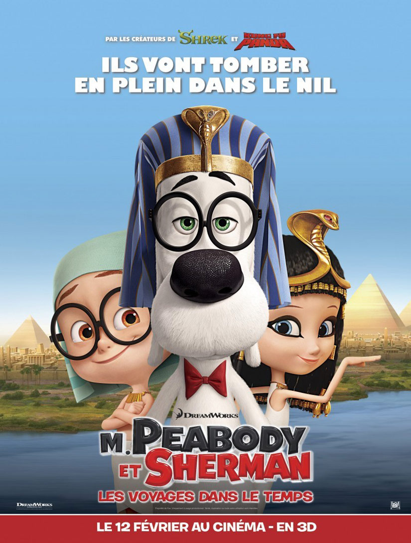Mr. Peabody & Sherman Poster #10