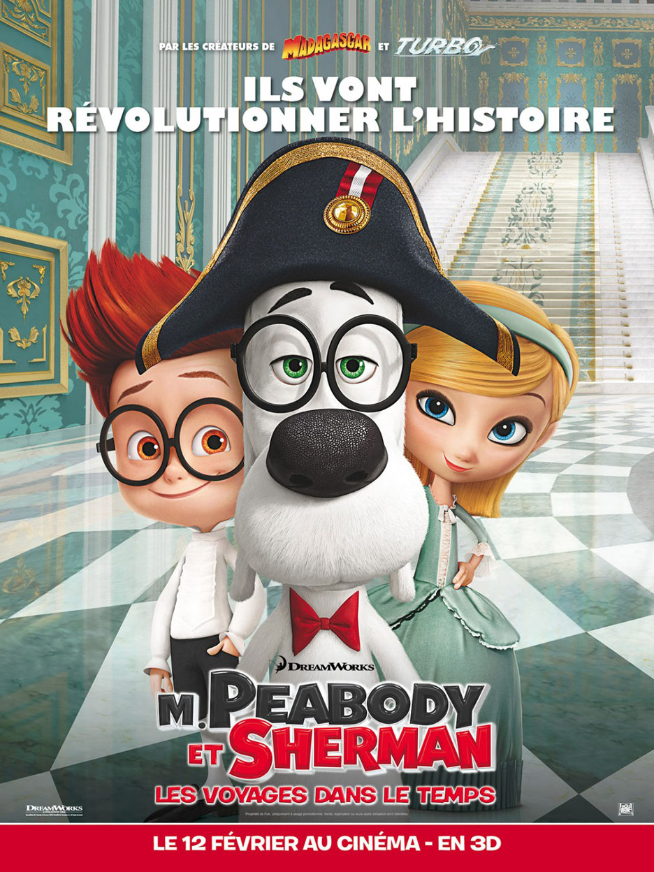 Mr. Peabody & Sherman Poster #13