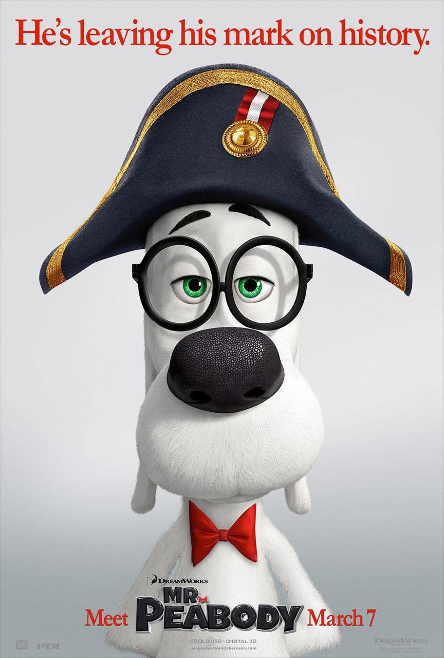 Mr. Peabody & Sherman Poster #2