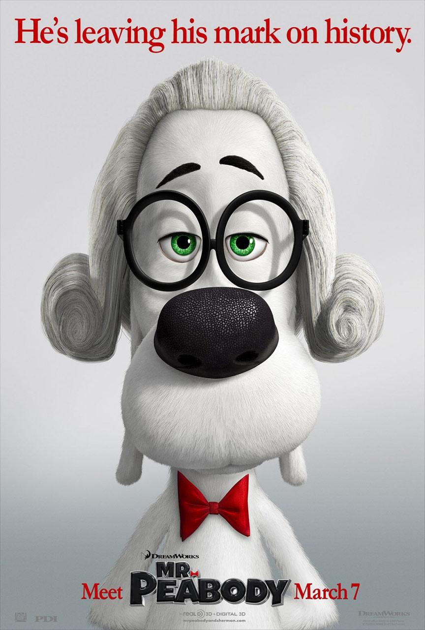 Mr. Peabody & Sherman Poster #3
