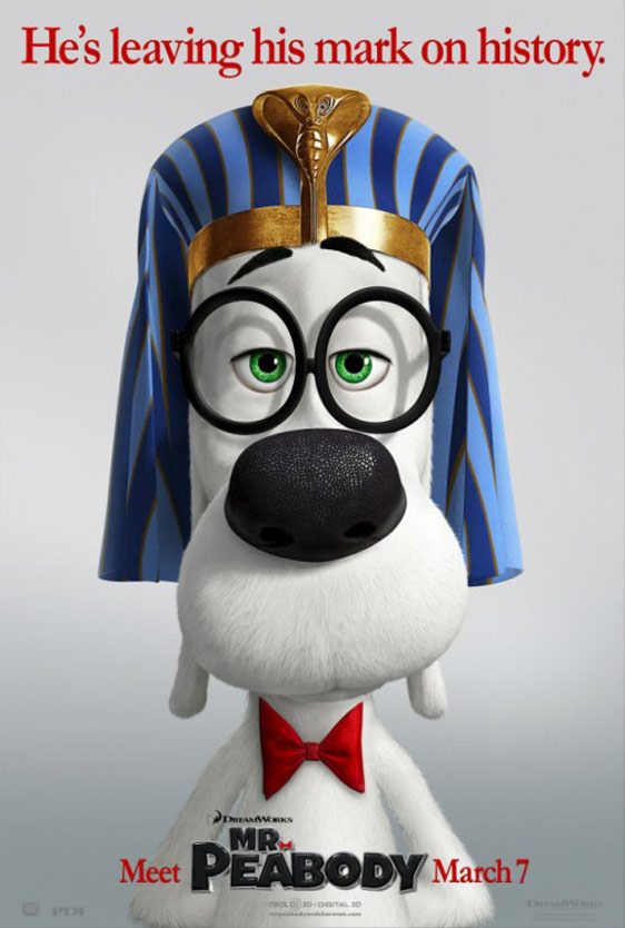 Mr. Peabody & Sherman Poster #6