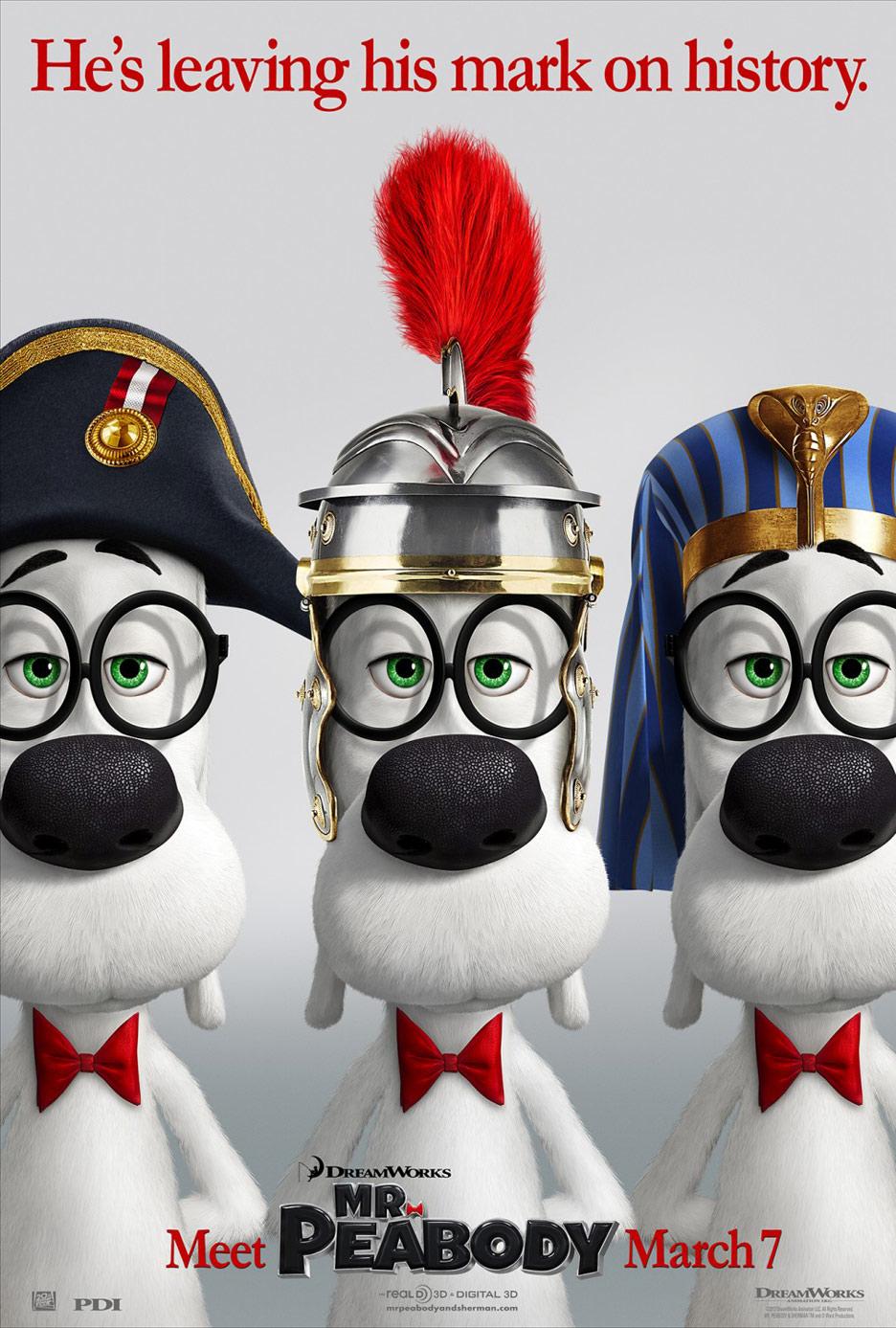 Mr. Peabody & Sherman Poster #7